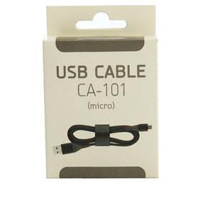 USB кабель CA-101 с разъемом MicroUSB 1 м., фото 2