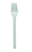 Вилки одноразовые белые 16,0 см. 100 шт