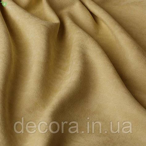 Однотонна декоративна тканина велюр білого кольору, Туреччина 121000v4, фото 2