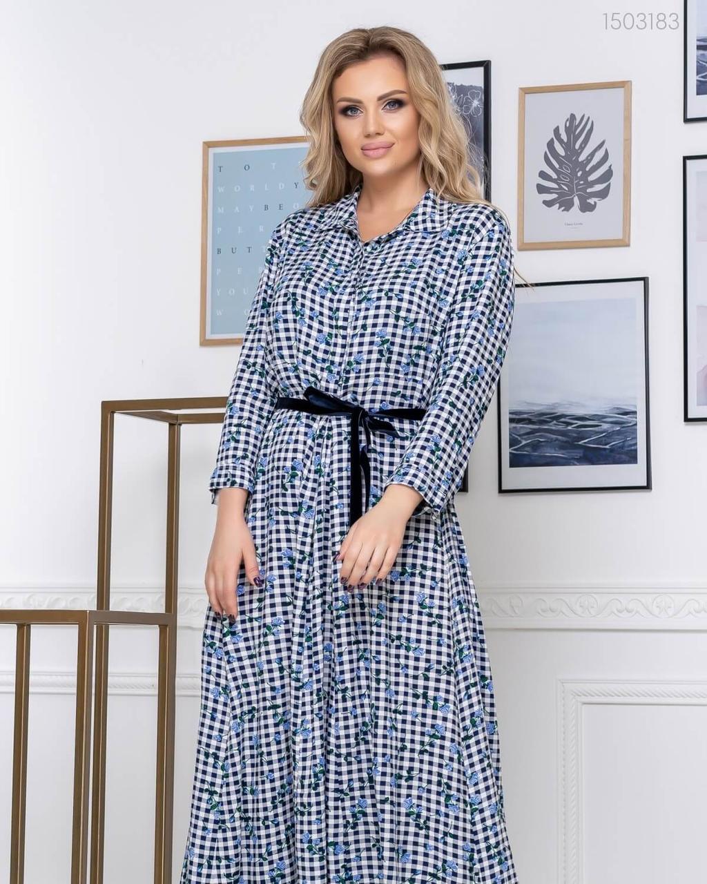 Сукня з штапелю з 48 до 54 розмір 2020