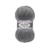Пряжа Superlana Tig Alize 21 серый меланж (Суперлана Тиг Ализе)