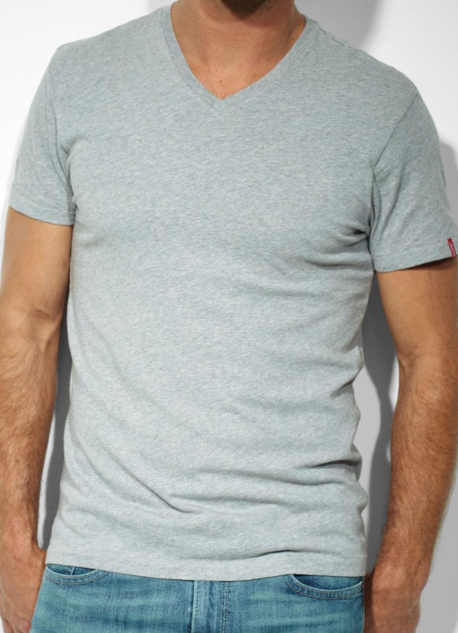 Комплект футболок Levis  (2 шт) - Heather Grey And White