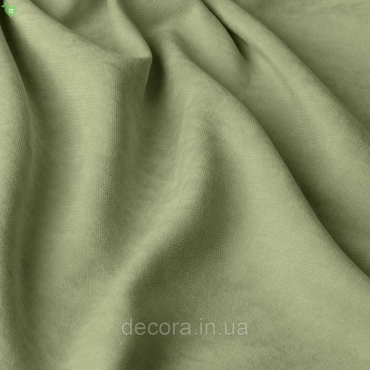 Однотонна декоративна тканина велюр білого кольору, Туреччина 121000v25