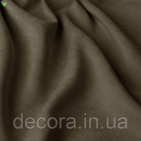 Однотонна декоративна тканина велюр білого кольору, Туреччина 121000v31, фото 2