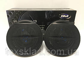 Автомобильные колонки акустика BOSCHMANN WJ1-S44V3 10см/4дюйма 90-270Ватт