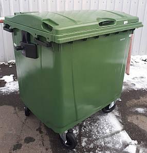JCP пластиковий контейнер для сміття 1,1 м3