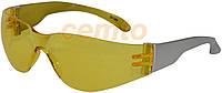 Очки защитные желтые  Delta plus BRAVA 2 brav2ja