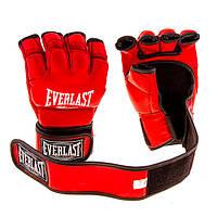 Перчатки Ever MMA, DX364, S, M, L, XL, красный