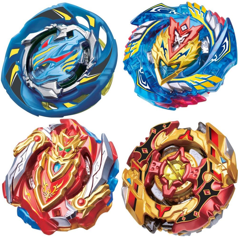 Набор Бейблейд Beyblade 4 в 1: Чо-Зет Волтраек В5 + Чо-Зет Спрайзен С5 + Чо-Зет Ахиллес А5 + Воздушный Рыцарь