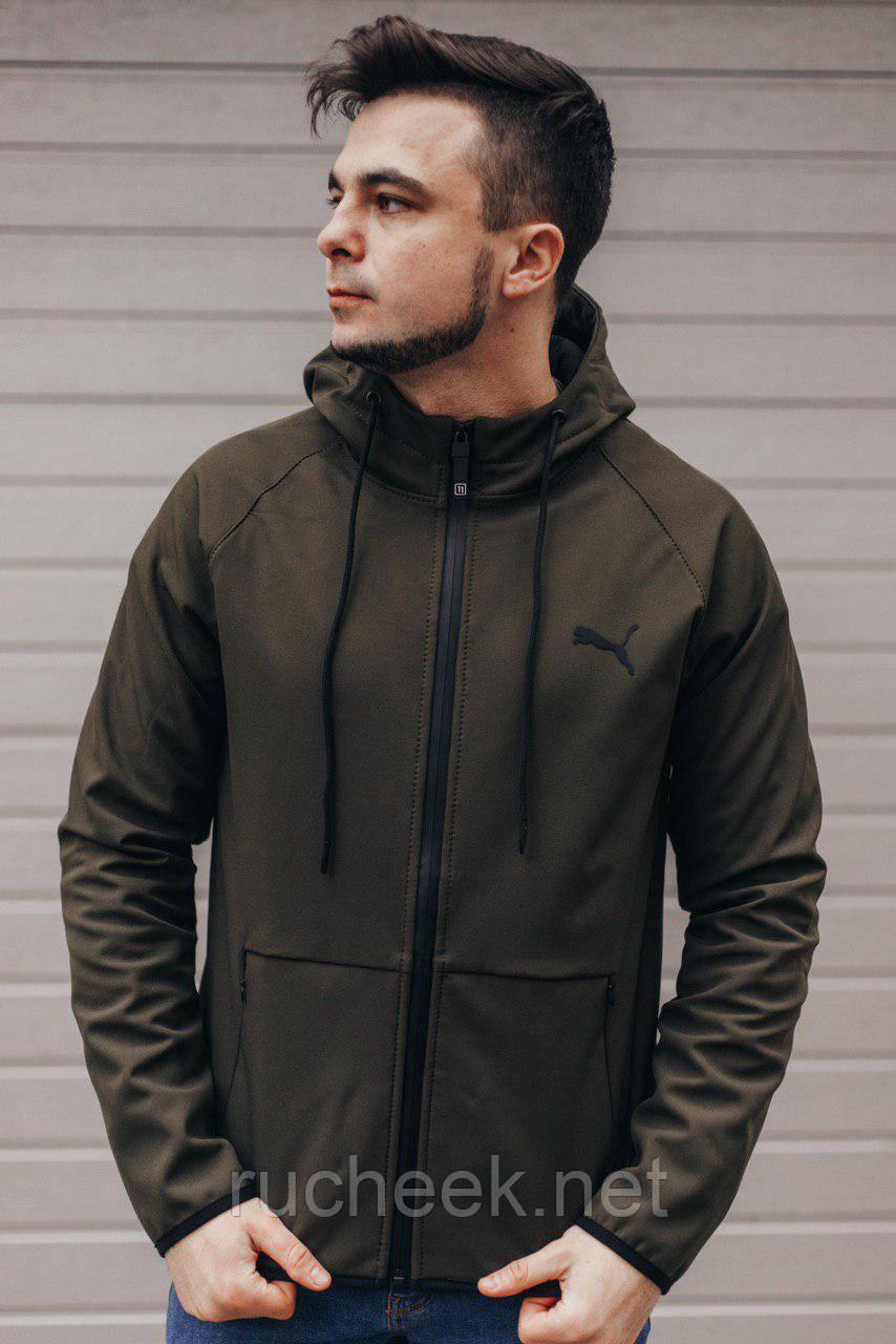 Спортивная куртка мужская Пума р - ры S - XХL