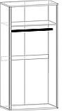 "Шкаф распашной 2Д ""Токио"" (Мебель-Сервис), фото 3"