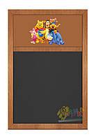 Меловая доска меню коллекция Винни Пух