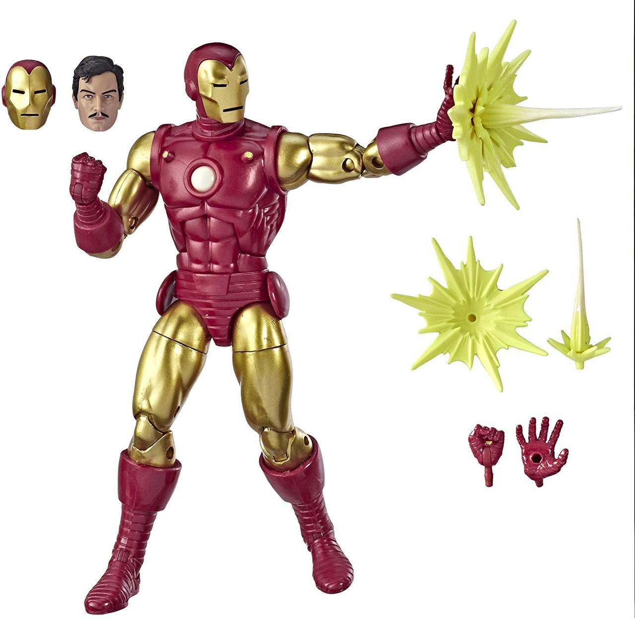 Фигурка Hasbro классический Железный Человек, Легенды Марвел 16 см - Iron Man, Marvel (E6346)