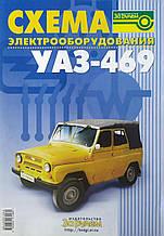 СХЕМА ЕЛЕКТРООБЛАДНАННЯ УАЗ - 469