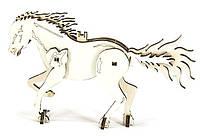 """Конструктор пазлы из дерева """"лошадь"""" развивающая игрушка для детей"""