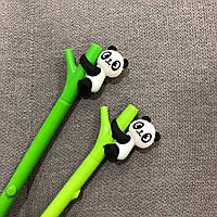 Ручка кулькова Панда на бамбуці
