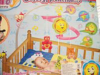 """Заводная карусель на кроватку, коляску """"Baby"""", фото 1"""