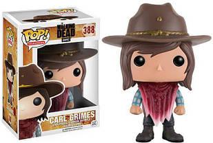 Фигурка Funko Pop Фанко ПопThe Walking Dead Carl GrimesХодячие МертвецыКарл Граймс 10 см WD CG388