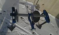 Дисковой окучник усиленный на двойной сцепке БелМет (40 см, сцепка 100 см)