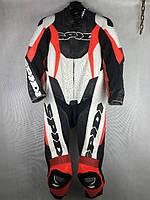 Комбинезон мото Spidi бело черно-красный 48 размера