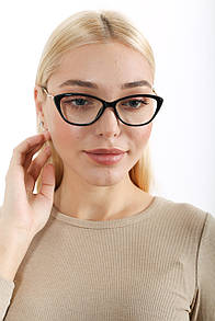 Компьютерные очки FAMO 8020 черные Общая ширина 13.5(см)/ Высота линзы 4(см)/ Ширина линзы 5(см) (8020)