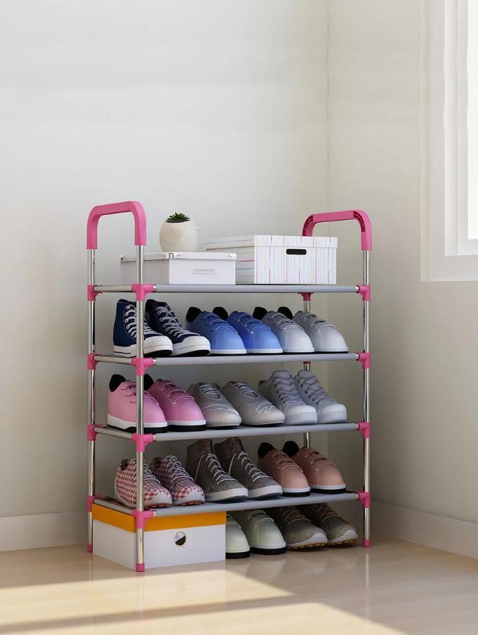 Полка для обуви Shoe rack (4 полки, 12 пар) WM-65