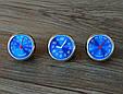 Стильный набор из 3 приборов ( Часы / Термометр / Гигрометр ) СИНИЙ ЦИФЕРБЛАТ, фото 8