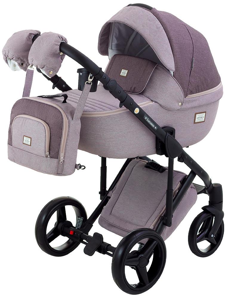 Дитяча універсальна коляска 2 в 1 Adamex Luciano Jeans Y44CZ