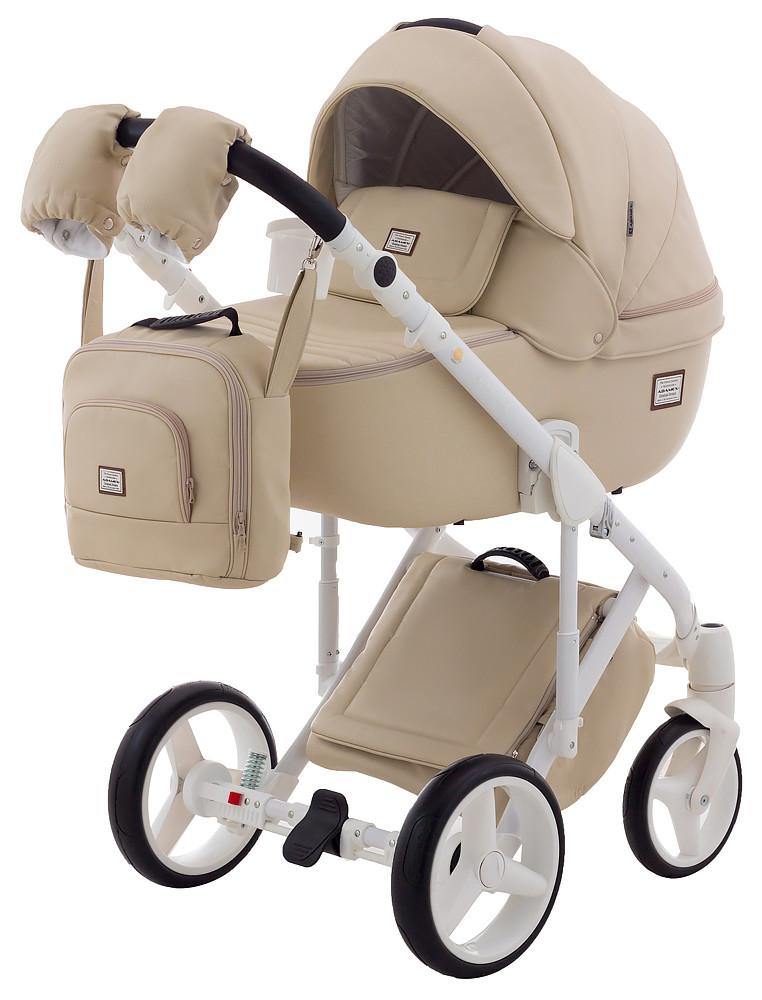 Дитяча універсальна коляска 2 в 1 Adamex Luciano Ecco 11S-B