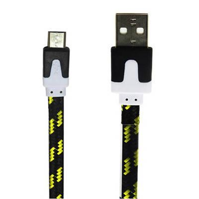 (DL) USB кабель (High quality) micro USB в тканевой оплетке, фото 2
