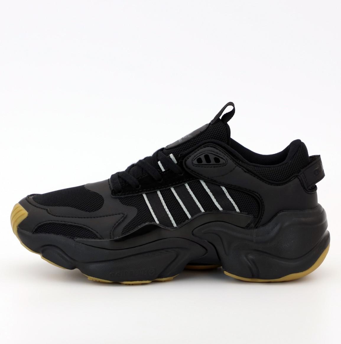 Мужские кроссовки Adidas Consortium x Naked Magmur Runner Black (Адидас Магмур)
