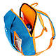 Рюкзак городской, туристический Quechua ARPENAZ 10 л. бирюзовый с оранжевым 630337, фото 7