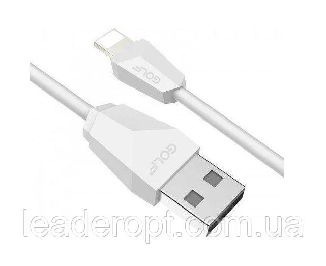 ОПТ Дата кабель синхронізації Diamond GOLF GC-27 iPhone Lightning 1.5 м для заряджання і передачі даних