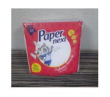 "Салфетка столовая 35шт. ""Paper Next"" 24 * 24 БЕЛАЯ 10 шт. / Уп 100 шт. / Меш"