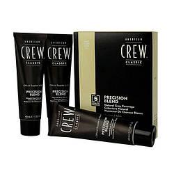 Краска-система маскировки седины American Crew (7-8) Light 3 * 40 мл
