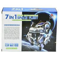 Конструктор Same Toy Робот-конструктор Космический флот 7 в 1 на солнечной батаре (2117UT)