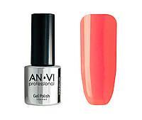 Гель-лак для ногтей ANVI Professional №134 Carrot Touch 9 мл