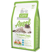 Сухой корм для кошек Brit Care Cat  Angel I am Delighted Senior - 0,4 кг