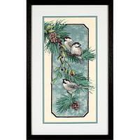 Набор для вышивания DIMENSIONS 03199 Снегири на ветке