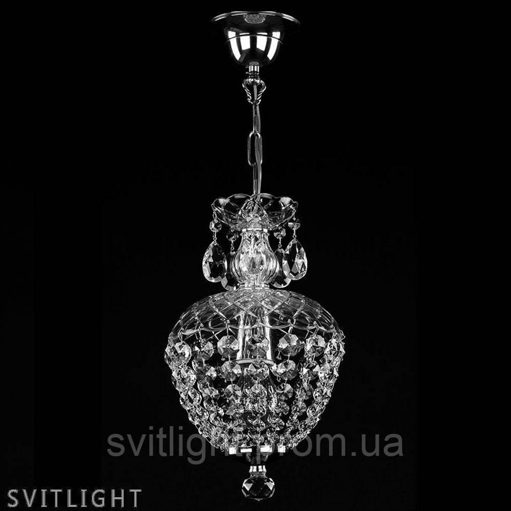 Подвесная люстра хрустальная VIVIEN I. VACHTLE NICKEL CE Artglass