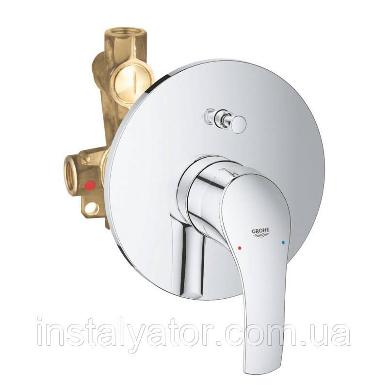 Grohe Eurosmart 33305002 смеситель для душа с переключ. скрытого монтажа
