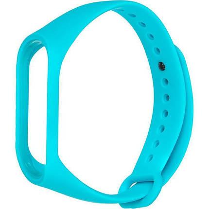 Ремешок для фитнес-браслета Xiaomi Mi Band 3 и Mi Band 4 Light Blue, фото 2