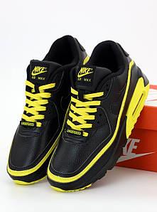 Мужские кроссовки Nike Air Max 90 Essential Black (Найк Аир Макс черные)