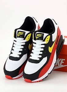Мужские кроссовки Nike Air Max 90 Essential White (Найк Аир Макс белые)