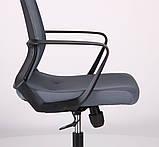 Кресло офисное на колесах ARGON LB серый AMF (бесплатная адресная доставка), фото 5