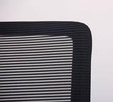 Кресло офисное на колесах ARGON LB черное AMF (бесплатная адресная доставка), фото 7