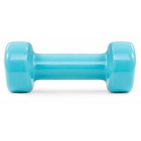 Гантели для фитнеса 2 шт. по 2 кг с виниловым покрытием HS-V020DC, фото 2