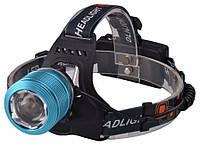 Налобный фонарик Bailong BL-2199 T6 Blue