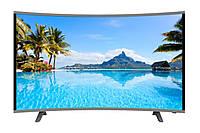 Телевизор JPE 32 Изогнутый LCD LED HD-экран T2/USB/HDMI/VGA Black