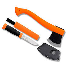 Набор Morakniv Outdoor Kit MG, нож Morakniv 2000 + топор